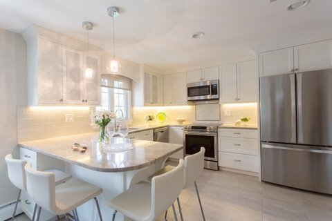ASR, kitchen renovation, white kitchen